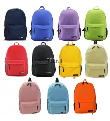 Classic Canvas Backpack School Bag