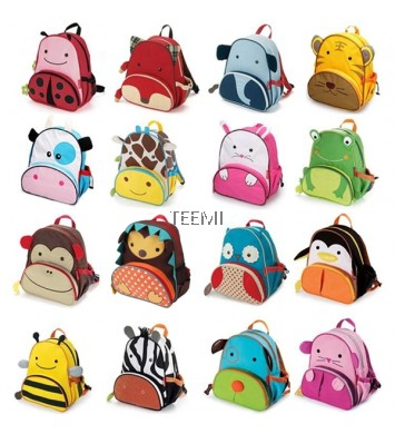Animal Design School Bag for Kids