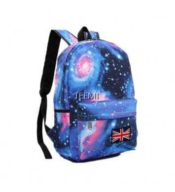 Galaxy Backpack Korean Casual Student Bag