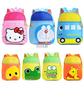 Preschool Backpack Kids Children Cartoon Bag