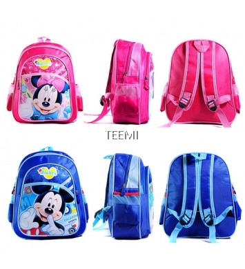 Mickey Minnie Kids Preschool Backpack Kindergarten Nursery School Bag