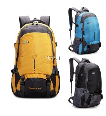 45L 18˝ Hiking Camping Waterproof Nylon Backpack