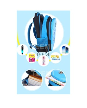 Hard Shell Bright Color Primary Secondary Nylon Waterproof School Bag Kids Children Backpack
