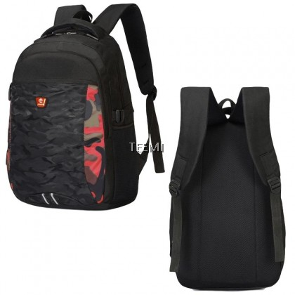 Army Camouflage 15.6 Inch Laptop Backpack